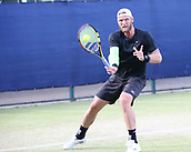 June 15th 2017, Nottingham, England; ATP Aegon Nottingham Open Tennis Tournament day 6;  Sam Groth of Australia who beat Brydan Klein of Great Britain in two sets