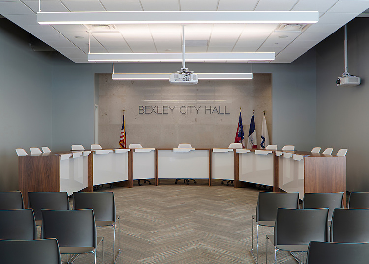 Bexley City Hall | Gieseke Rosenthal Architecture + Design (GRA+D)