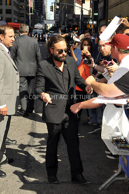 WWW.ACEPIXS.COM<br /> <br /> June 5 2013, New york City<br /> <br /> Actor Johnny Galecki made an appearance at The Late Show with David Letterman on June 5 2013 in New York City<br /> <br /> By Line: Romeo/ACE Pictures<br /> <br /> <br /> ACE Pictures, Inc.<br /> tel: 646 769 0430<br /> Email: info@acepixs.com<br /> www.acepixs.com