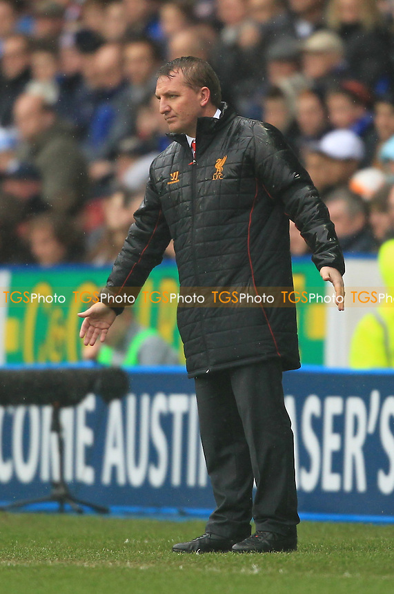 Liverpool Manager Brendan Rodgers - Reading vs Liverpool - Barclays Premier League Football at the Madejski Stadium - 13/04/13 - MANDATORY CREDIT: Simon Roe/TGSPHOTO - Self billing applies where appropriate - 0845 094 6026 - contact@tgsphoto.co.uk - NO UNPAID USE