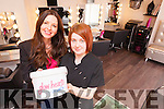 Leanne Templeton and Danielle Meehan from Leanne's Hair Room & Style Boutique are planning a 48 hour Silent Challenge to raise funds for Glow Hearts 4 Crumlin.