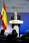 "Jose Luis Bonet during the 6th edition of the collecting badges to the new ambassadors fees ""Marca España"" in his 6th edition at BBVA City in Madrid, November 12, 2015.<br /> (ALTERPHOTOS/BorjaB.Hojas)"