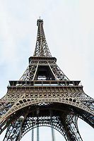 France, Paris. Eiffel Tower.