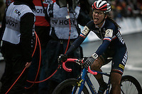 happy 2nd: Caroline Mani (FRA)<br /> <br /> Elite Women's race<br /> UCI 2016 cyclocross World Championships