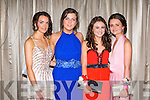 DEBS: Having a wonderful time at the St Joseph's Presentation, Castleisland Debs Ball at the Earl of Desmond hotel on Saturday l-r: Rebecca Kerin, Kate Murphy, Laoise Sheehan and Chloe Joyce.