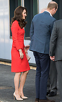 HAYES, UNITED KINGDOM - APRIL 20: Catherine, Duchess of Cambridge, William, Duke of Cambridge attends the official opening of The Global Academy in support of Heads Together on April 20, 2017 in Hayes, England. <br /> CAP/JOR<br /> &copy;JOR/Capital Pictures /MediaPunch ***NORTH AND SOUTH AMERICAS ONLY***