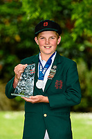 MVP Micky Peacock of Hereworth School. National Primary Cup boys' cricket tournament at Lincoln Domain in Christchurch, New Zealand on Wednesday, 20 November 2019. Photo: John Davidson / bwmedia.co.nz