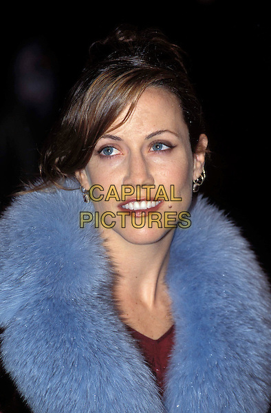 SHERYL CROW.Ref:11349.blue fur collar, headshot, portrait.www.capitalpictures.com.sales@capitalpictures.com.© Capital Pictures.
