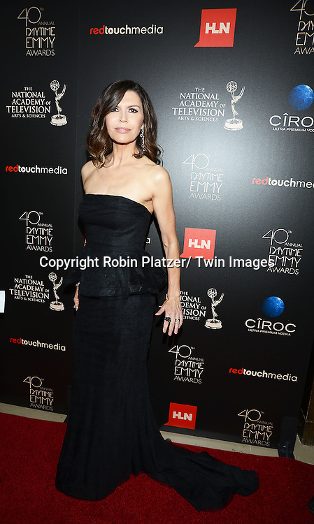 Finola Hughes attends The 40th Annual Daytime Emmy Awards on<br />  June 16, 2013 at the Beverly Hilton Hotel in Beverly Hills, California.