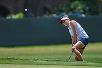 Gerina Piller (USA) chips on to 4 during round 3 of the 2019 US Women's Open, Charleston Country Club, Charleston, South Carolina,  USA. 6/1/2019.<br /> Picture: Golffile | Ken Murray<br /> <br /> All photo usage must carry mandatory copyright credit (© Golffile | Ken Murray)