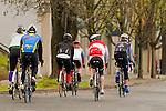 People Biking in Portland, Oregon