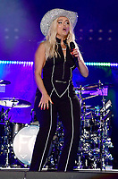 10 June 2018 - Nashville, Tennessee - BeBe Rexha. 2018 CMA Music Fest Nightly Concert held at Nissan Stadium. <br /> CAP/ADM/LF<br /> &copy;LF/ADM/Capital Pictures