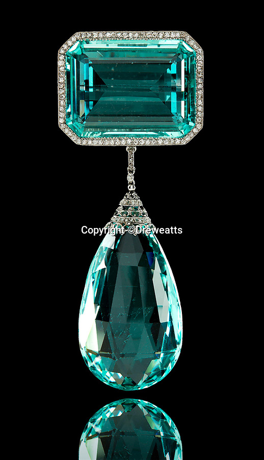 "BNPS.co.uk (01202 558833)<br /> Pic: Dreweatts/BNPS<br /> <br /> Astor be worth it - A stunning pendant owned by Britain's trailblazing first female MP has emerged for sale for £20,000.<br /> <br /> The huge Edwardian aquamarine and diamond gem belonged to fabulously rich American born Nancy Astor who was elected to the House of Commons in 1919.<br /> <br /> The striking jewel was bought in 1910 when Nancy and her husband Waldorf were living at their country pile Cliveden in Buckinghamshire.<br /> <br /> The vast estate had been gifted to the couple as a wedding present in 1906 by Waldorfs billionaire father William.<br /> <br /> Nancy is famous for her sharp exchanges with Churchill, in one reported exchange, Lady Astor said to Churchill, ""If you were my husband, I'd poison your tea,"" to which he responded, ""Madam, if you were my wife, I'd drink it.""<br /> <br /> The unique gem has now been consigned for sale by Viscountess Astor's great-granddaughter at Dreweatts auction house of Newbury, Berks.<br /> <br /> The Belle Epoque jewel is 4ins in length with a mounting in platinum fronted gold.<br /> <br /> James Nicholson, deputy chairman of Dreweatts, said: ""This brooch is the epitome of the finest Edwardian Belle Epoque jewellery, fashionable in the early 20th century's 'Age of Elegance' just before the outbreak of the First World War."