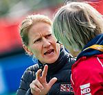 ROTTERDAM - coach Janneke Schopman (USA)    tijdens de Pro League hockeywedstrijd dames, Nederland-USA  (7-1) .   COPYRIGHT  KOEN SUYK