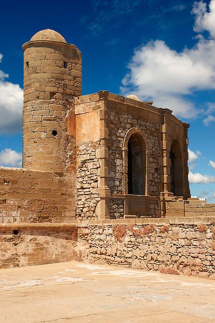 Portuguese fortifications of Mogador or Mogadore. Essaouira, Morocco