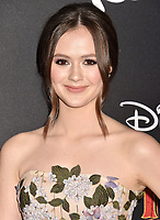 HOLLYWOOD, CA - MARCH 11: Olivia Sanabia attends the premiere of Disney's 'Dumbo' at El Capitan Theatre on March 11, 2019 in Los Angeles, California.<br /> CAP/ROT/TM<br /> &copy;TM/ROT/Capital Pictures