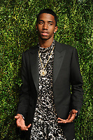 NEW YORK, NY - NOVEMBER 6: Christian Combs at the 14th Annual CFDA Vogue Fashion Fund Gala at Weylin in Brooklyn, New York City on November 6, 2017. Credit: John Palmer/MediaPunch /NortePhoto.com