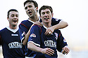 16/02/2008    Copyright Pic: James Stewart.File Name : sct_jspa11_falkirk_v_st_mirren.PATRICK CREGG CELEBRATES AFTER HE SCORES FALKIRK'S FOURTH.James Stewart Photo Agency 19 Carronlea Drive, Falkirk. FK2 8DN      Vat Reg No. 607 6932 25.Studio      : +44 (0)1324 611191 .Mobile      : +44 (0)7721 416997.E-mail  :  jim@jspa.co.uk.If you require further information then contact Jim Stewart on any of the numbers above........