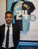Paris Cowan-Hall of Wycombe Wanderers signs on loan from Millwall until the end of the season during the Sky Bet League 2 match between Wycombe Wanderers and Leyton Orient at Adams Park, High Wycombe, England on 23 January 2016. Photo by Andy Rowland / PRiME Media Images.