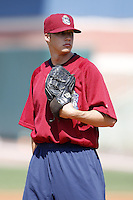 June 24, 2009:  Pitcher Tyler Sturdevant of the Mahoning Valley Scrappers during a game at Eastwood Field in Niles, OH.  The Scrappers are the NY-Penn League Short-Season Single-A affiliate of the Cleveland Indians.  Photo by:  Mike Janes/Four Seam Images