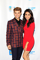 LOS ANGELES - OCT 28:  Garrett Clayton, Ashley Argota at the 2018 Looking Ahead Awards at the Taglyan Cultural Complex on October 28, 2018 in Los Angeles, CA