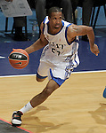 Real Madrid's Clay Tucker during ACB Supercup Semifinal match.September 24,2010. (ALTERPHOTOS/Acero)