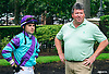 Mike Gorham and Angel Serpa at Delaware Park on 7/5/17
