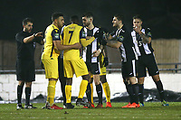 Tempers flare during Heybridge Swifts vs AFC Hornchurch, Bostik League Division 1 North Football at Scraley Road on 9th January 2018
