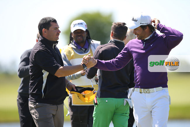 Antonio Hortal (ESP) completes his  Round Two of the 2015 Nordea Masters at the PGA Sweden National, Bara, Malmo, Sweden. 05/06/2015. Picture David Lloyd | www.golffile.ie