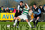 Gary Keane Killarney Celtic competes against Sheriff in the FAI cup semi final on Saturday