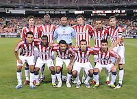 Chivas USA Staring Eleven.  Chivas USA defeated DC United 2-0  at RFK Stadium, Saturday October 3, 2009.