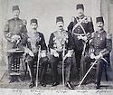 Turkey 1900? .Second left, Galib Pacha, Abdel Razzak Bedir Khan,Kaimmakan Bedir Khan  .Turquie 1900? .Deuxieme a gauche,Galib Pacha, Abdel Razzak Bedir Khan, Kaimmakan Bedir Khan