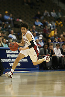 18 March 2006: Cissy Pierce during Stanford's 72-45 win over Southeast Missouri State in the first round of the NCAA Women's Basketball championships at the Pepsi Center in Denver, CO.