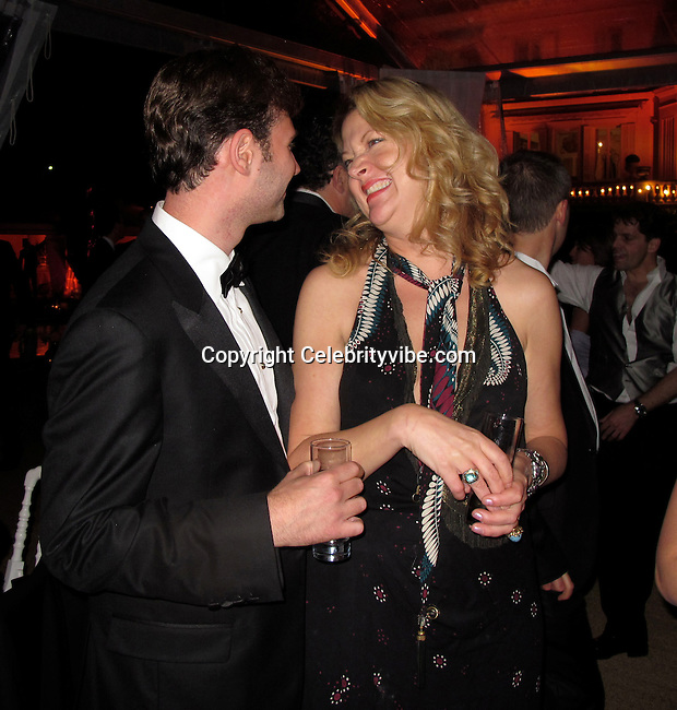 **EXCLUSIVE**.John Buffalo Mailer and Peri Lyons..Wall Street: Money Never Sleeps Premiere Post Party - Inside..Cannes Film Festival..Villa in La Californie..Cannes, France..Friday, May 14, 2010..Photo ByCelebrityVibe.com.To license this image please call (212) 410 5354; or Email:CelebrityVibe@gmail.com ;.website: www.CelebrityVibe.com.