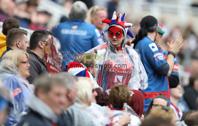 Picture by John Clifton/SWpix.com - 20/05/2017 - Rugby League - Dacia Magic Weekend - St James' Park, Newcastle, England -