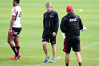 Ronan O'Gara, backs coach during the Crusaders Super Rugby training session at Rugby Park in Christchurch, New Zealand on Thursday 22 February 2018. Photo: Martin Hunter / lintottphoto.co.nz