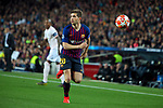 UEFA Champions League 2018/2019.<br /> Quarter-finals 2nd leg.<br /> FC Barcelona vs Manchester United: 3-0.<br /> Sergi Roberto.