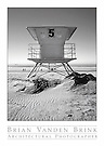 LIFEGUARD STATION #5<br /> Coronado, California<br /> photograph &copy; Brian Vanden Brink, 2007