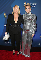 WEST HOLLYWOOD, CA - FEBRUARY 7: Meghan Trainor and Ashlee Simpson at the Delta Air Line 2019 GRAMMY Party at Mondrian LA in West Hollywood, California on February 7, 2019.   <br /> CAP/MPI/SAD<br /> &copy;SAD/MPI/Capital Pictures