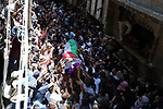 Palestinian mourners carry the body of nurse Razan Al-Najar, 21, during her funeral after she was shot dead by Israeli soldiers, in Khan Younis in the southern Gaza strip on June 2, 2018. Najar, a volunteer medic, was shot by Israeli forces as she ran toward the fortified border fence, east of the south Gaza city of Khan Younis, in a bid to reach a casualty, a witness said. Razan Al-Najar's death brought to 119 the number of Palestinians killed in weekly demonstrations launched on March 30 in the Gaza Strip. Photo by Ashraf Amra