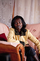 2011 London Marathon winner Mary Keitany at home in Iten, Kenya.