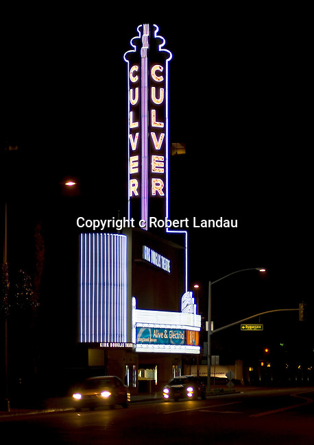 The Kirk Douglas Theater in Culver City