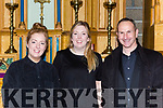 Grainne and Orla O'Carroll Tralee with Ross Kingston Tralee who performed in Handels Messiah with the Kerry Chamber Choir and Orchestra in the Franciscan Friary Killarney on Sunday night