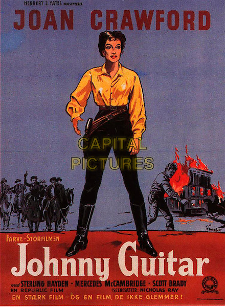 SCANDINAVIAN POSTER ART.in Johnny Guitar.*Editorial Use Only*.Ref: FB.www.capitalpictures.com.sales@capitalpictures.com.Supplied by Capital Pictures.