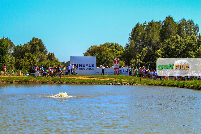 (ESP) on the 17th tee during Round 4 of the Open de Espana  in Club de Golf el Prat, Barcelona on Sunday 17th May 2015.<br /> Picture:  Thos Caffrey / www.golffile.ie