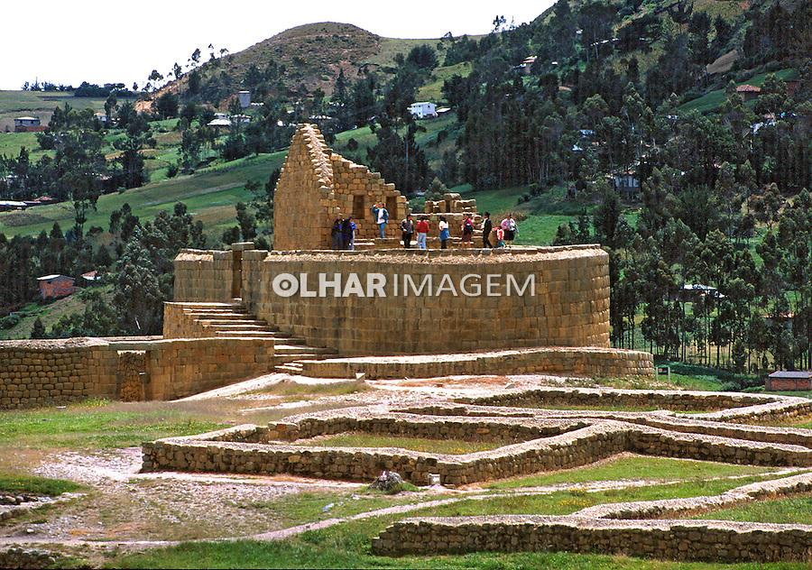 Ruinas Incas de Ingapirca. Equador. Foto de Juca Martins. Data. 1997.