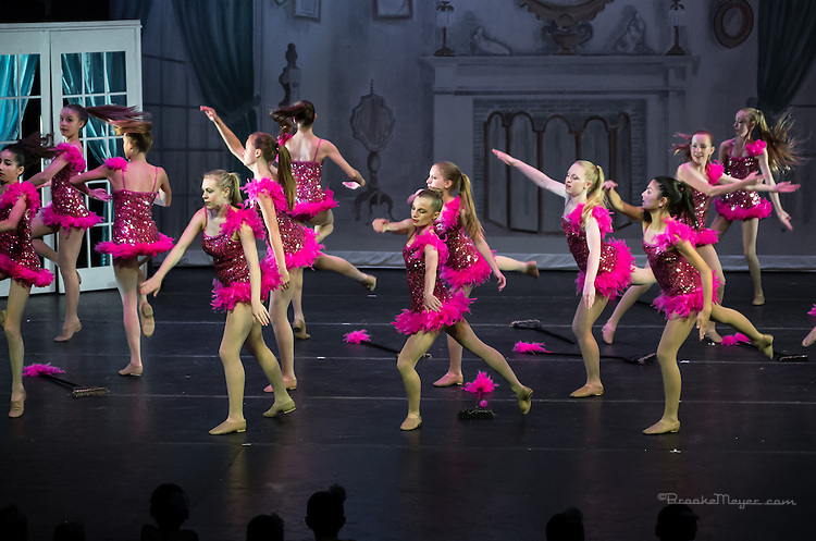 "Third Dress Rehearsal for ""Cinderella"", the 2014 Annual Recital by the Cary Ballet Conservatory"