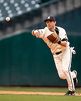 Missouri TIger Michael Liberto against the Houston Cougars on Friday March 5th, 2100 at the Astros College Classic in Houston's Minute Maid Park.  (Photo by Andrew Woolley / Four Seam Images)