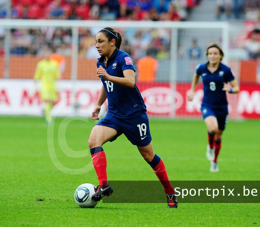 Fifa Women's World Cup Germany 2011 : England - France - at Leverkusen : Sandrine Bretigny.foto DAVID CATRY / Vrouwenteam.be