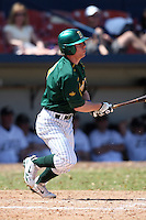 March 14, 2010:  Catcher/Infielder Tim Jallen (9) of North Dakota State University Bison vs. Akron University at Chain of Lakes Park in Winter Haven, FL.  Photo By Mike Janes/Four Seam Images